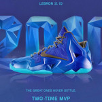 "A Decade of Moments // NIKEiD LeBron XI ""Two-Time MVP"""
