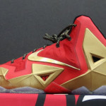 LeBron James' Nike LeBron XI Ring Night Player Exclusive