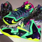 "Rare Look at Nike LeBron XI ""T-Rex"" Men's Player Exclusive"