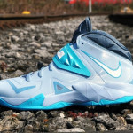 Nike Zoom Soldier VII in Light Armory Blue / White / Gamma Blue