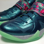 NIKE SOLDIER VII (7) Pink & Green Glow with GITD Outsole