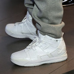 "Charles Williams Wears ""White Collection"" Zoom LeBron III at Nike Event in Beijing"