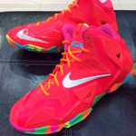 "Nike LeBron XI (11) GS ""Fruity Pebbles"" – First Look"