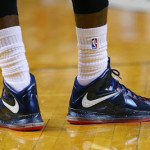 James Sticking with LeBron X. Debuts Hoops for Troops PEs.