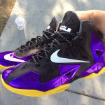 Nike LeBron XI Lakers Chroma iD Build by gentry187