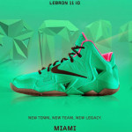 "A Decade of Moments // NIKEiD LeBron XI ""South Beach"""