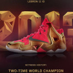 "A Decade of Moments // NIKEiD LeBron XI ""Two-Time Champ"""