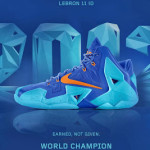 "A Decade of Moments // NIKEiD LeBron XI ""World Champion"""