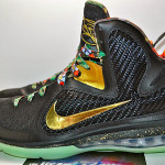 "LEBRON 9 ""Watch the Throne"" Alternate Version Glows in the Dark"