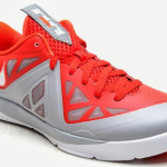 Nike LeBron ST II 579743-600 University Red / Stadium Grey