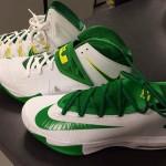 New Oregon Ducks' Nike Zoom LeBron Soldier 7 PE