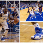 Wearing Brons: Kentucky Wildcats' Nike LeBron 11 PEs