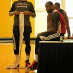 King James Back to Testing Nike LeBron 11 in Practice