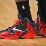 LeBron Debuts Alternate Away PE on his Birthday (Carbon finish, no Speckles)