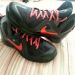"""#TBT: Nike LeBron 9 P.S. Elite """"Hunger Game"""" #6 Logo PE"""