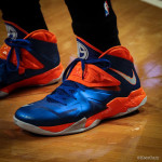 Wearing Brons: Amare Stoudemire in SOLDIER 7 Knicks PE (x3)