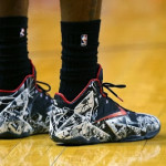 James Goes Back to LeBron 11 to Debut Newly Released Graffiti Edition