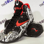 "Nike LeBron XI ""Home"" Graffiti Official Release Date"