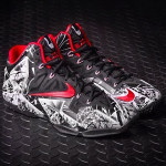 "Release Reminder: Nike LeBron 11 Miami Heat ""Graffiti"""