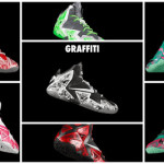 "NIKEiD LeBron XI ""Graffiti"" in 7 Different Ways"