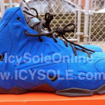 "First Look // Nike Sportswear LeBron XI EXT ""Blue Suede"""