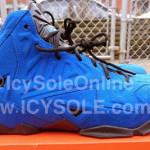 "First Look // Nike Sportswear LeBron XI EXT ""Blue Suede"""