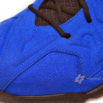 Nike LeBron XI (11) EXT Blue Suede Detailed Pictures