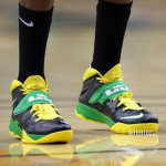 Wearing Brons: Oregon Ducks' Nike Soldier VII PEs (x3)