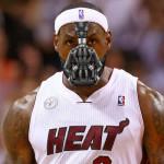 LeBron Suffers a Broken Nose. Meet #BaneJames.