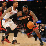 LeBron Debuts Soldier 7 Shine PE as Heat Beat Knicks at MSG
