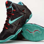 "Release Reminder: Nike LeBron XI Diffused Jade ""Prohibition"""