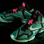 "Nike LeBron XI ""South Beach"" Release Date (616175-330)"