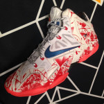 NIKEiD LeBron 11 Gumbo Samples at NBA All-Star Weekend