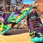 Nike LeBron XI – King's Pride / Floral PE