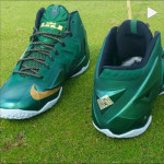 "Detailed Look at Nike LeBron XI ""SVSM"" PE Away Editon"