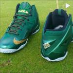 "Detailed Look at Nike LeBron XI ""SVSM"" PE Away Editon"