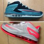 Preview of New Nike LeBron XI Styles: Black/Blue & Grey/Crimson