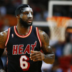 LeBron Uses Clear Mask and New Soldier 7 PE in Black & White