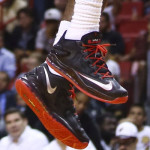 LeBron James Debuts Nike LeBron 11 Low in Black and Red