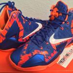 Closer Look at Zigzagged Nike LeBron XI Florida Gators Away PE