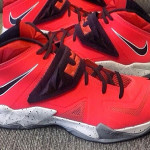 Nike Zoom LeBron Soldier VII – Red / Black / Grey – Playoffs?