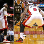 King James Laces Up Two Pairs of New Soldier 7 PEs vs. Brooklyn