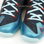 "Upcoming Nike Max LeBron XI Low ""Turbo Green / Nightshade"""