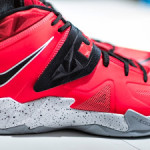 "Closer Look at Nike Zoom LeBron Soldier VII ""Miami Heat"""