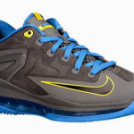 Nike LeBron 11 GS Black / Photo Blue / Tour Yellow Available