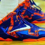 Close Up: Nike LeBron 11 Florida Gators Away PE