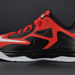 Nike LeBron ST III – Black / Platinum / Red – Available in Asia