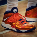 Amare Stoudemire's Nike Soldier 7 Knicks PE (4th Version)