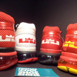 "Four Pairs of Nike Air Trainer 1.3 Max Breathe ""LeBron James"" PE"