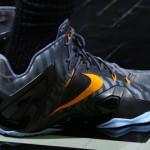 King James Wears Nike LeBron 11 Elite Finals PE on Media Day